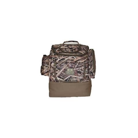 """Heavy Hauler Backpack Pockets Waterproof Zipper Mossy Oak Shadow - Mossy Oak Shadow - 13"""" L X 6"""" W X 17"""" H"""