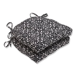 """(Set of 2) Gothic Wish Reversible Chair Pad 16"""""""