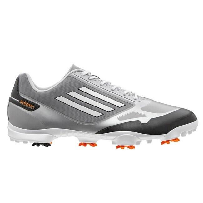 Adizero One Grey/Zest Golf Shoes Q46802