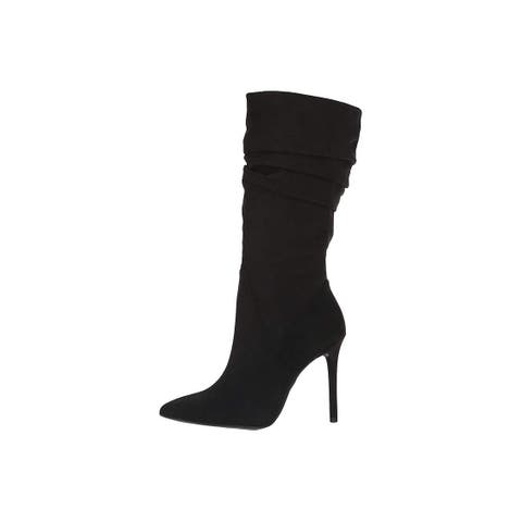 Jessica Simpson Womens js-lynd2 Pointed Toe Mid-Calf Fashion Boots