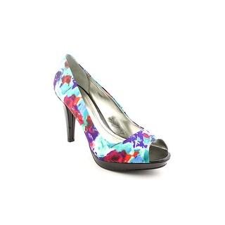 Style & Co Celine Women Round Toe Canvas Purple Heels