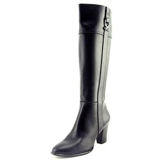 Alfani Courtnee Women Round Toe Synthetic Black Knee High Boot