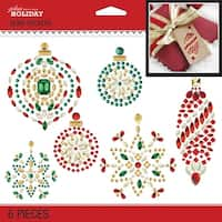 Bling Holiday Ornaments-Jolee's Boutique Dimensional Stickers