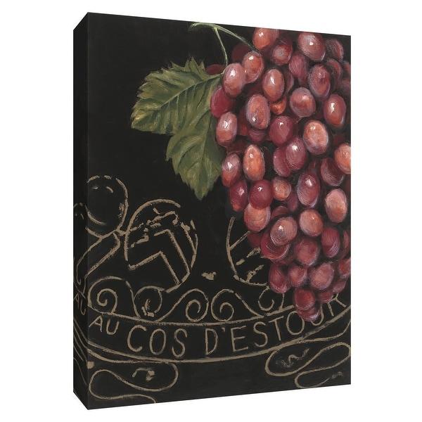 """PTM Images 9-154508 PTM Canvas Collection 10"""" x 8"""" - """"Chateau Nouveau Element VII"""" Giclee Fruits & Vegetables Textual Art Print"""