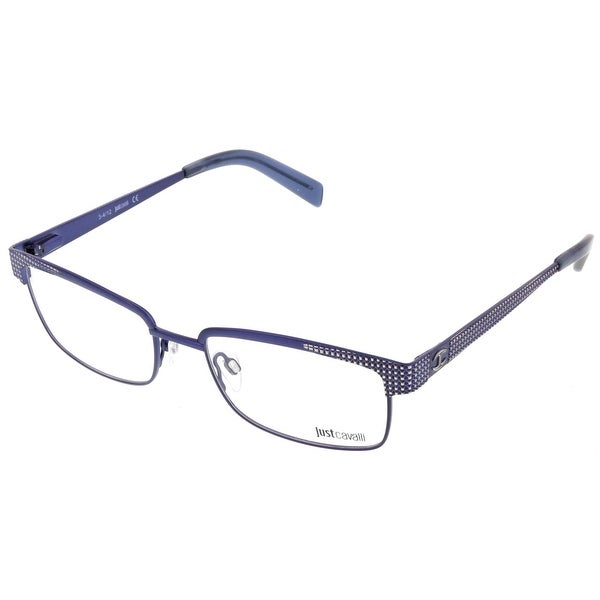 Just Cavalli JC0548/V 092 Blue Grey Rectangle Optical Frames - 54-18-145