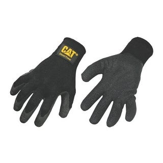 Cat Gloves CAT017400L Large Cotton Latex Coated Palm Gloves