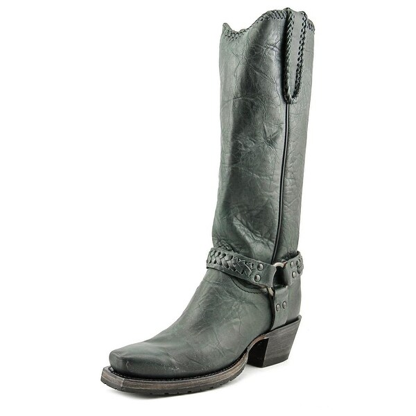 Lucchese Harness Boot M46 Pointed Toe Leather Western Boot