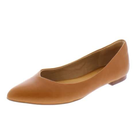 Corso Como Womens Jullia Ballet Flats Leather