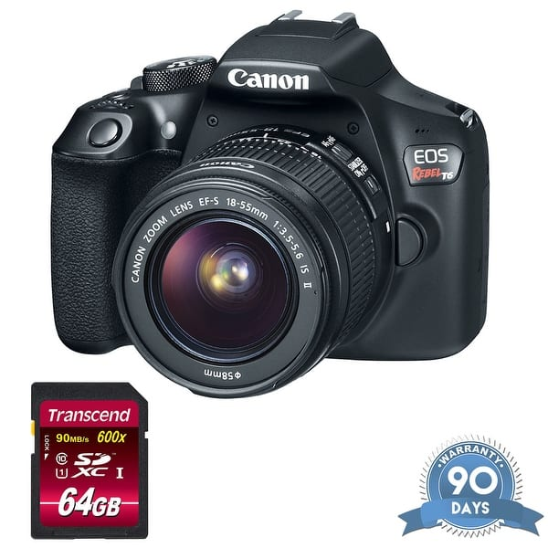 Shop Canon Eos Rebel T6 Dslr Camera With 18 55mm Lens With
