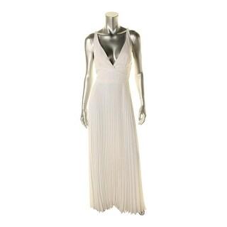 Laundry by Shelli Segal Womens Sleeveless Chiffon Evening Dress - 8
