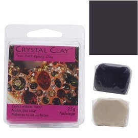 Crystal Clay 2-Part Epoxy Clay Kit 'Dark Purple' 25 Grams
