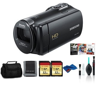 Link to Samsung HMX-F90 Camcorder Black Bundle with 2x32 GB Memory Card Similar Items in Digital Cameras