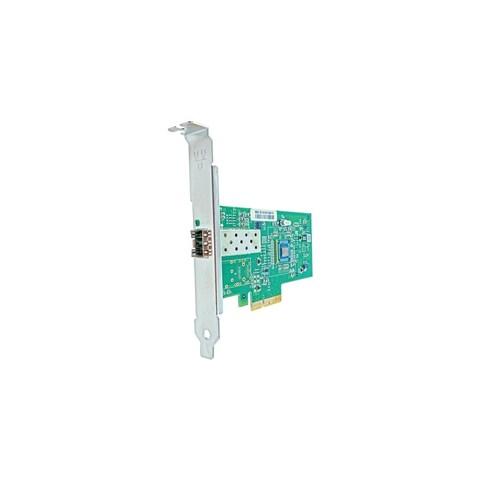 Axion 394793-B21-AX Axiom PCIe x4 1Gbs Single Port Fiber Network Adapter for HP - PCI Express 2.1 x4 - 1 Port(s) - Optical Fiber