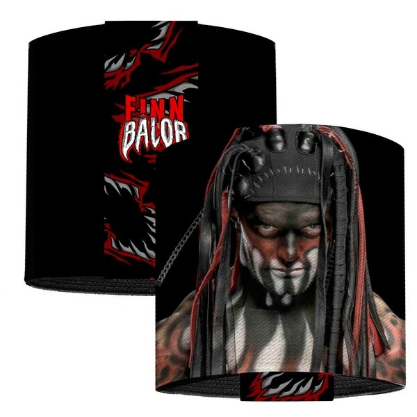 Finn Balor Demon Pose Black Elastic Wrist Cuff