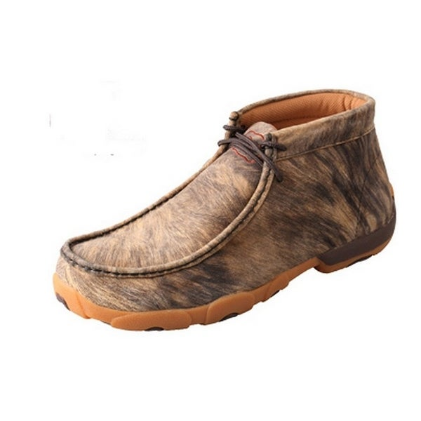 Twisted X Casual Shoes Mens Driving Mocs Lace Up Rubber Hyena