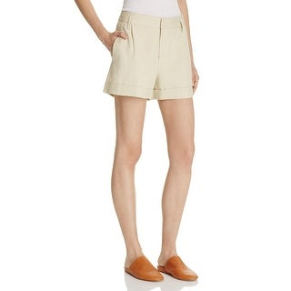 Vince Womens Casual Shorts Linen Pleated - 8