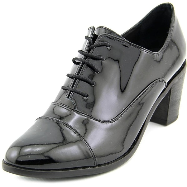 Steven Steve Madden Jelan Women Round Toe Patent Leather Oxford