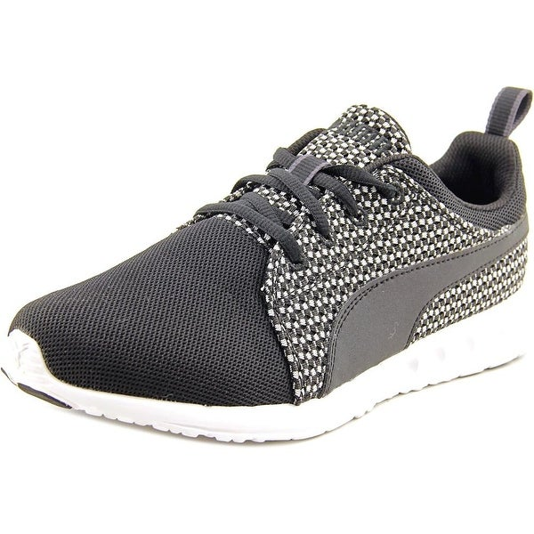 0408c362e9db Shop Puma Carson Runner Mesh Women Round Toe Synthetic Black Running ...