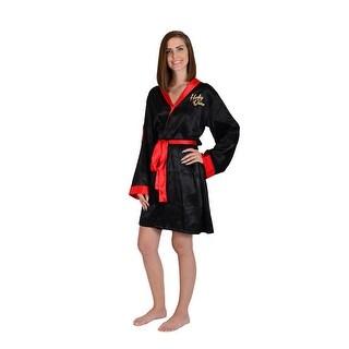 DC Bombshells Harley Quinn Women's Satin Robe