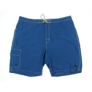 Tommy Bahama Mens Zipper Mesh Inset Board Shorts