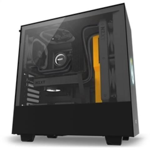 NZXT Case CA-H500B-OW H500 Overwatch MidTower mITX/mATX/ATX 2xUSB3.1 1xAudio/Mic Retail