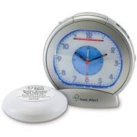 Sonic Alert SBA475ss Alarm Clock with Bed Shaker