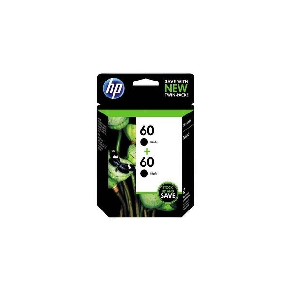 HP 60 Black Original Ink Cartridges- 2 Cartridges (CZ071FN)(Single Pack)