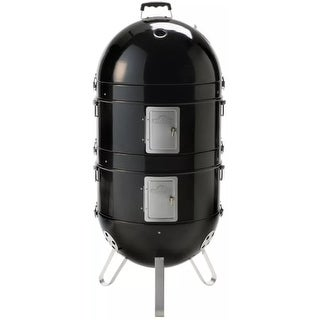 Napoleon AS300-1 Apollo 19 Inch Diameter Charcoal Free Standing Grill and Smoker