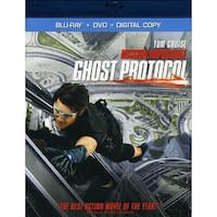 Mission Impossible Ghost Protocol [BLU-RAY]