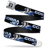 Cobra Head Full Color Black White Cobra Jet Cobra Head Flame Black Blue Seatbelt Belt
