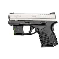 Viridian Reactor 5 Green Laser Sight For Springfield Xds Featuring Ecr  Includes Hybrid Belt Holster
