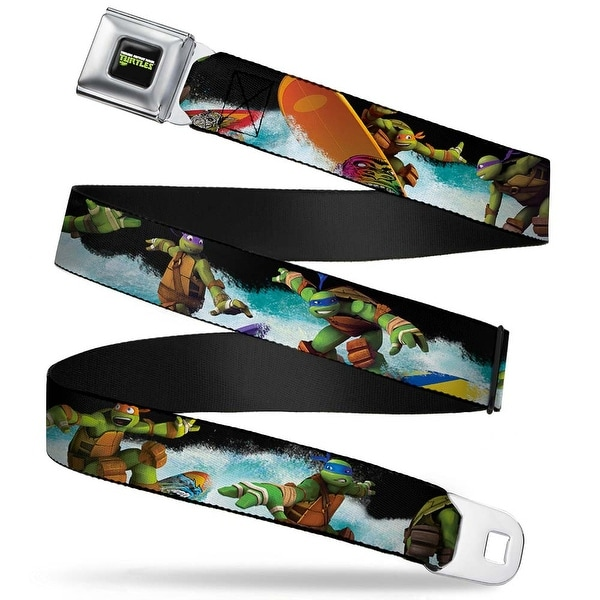 New Series Teenage Mutant Ninja Turtles Logo Full Color New Series Tmnt Seatbelt Belt