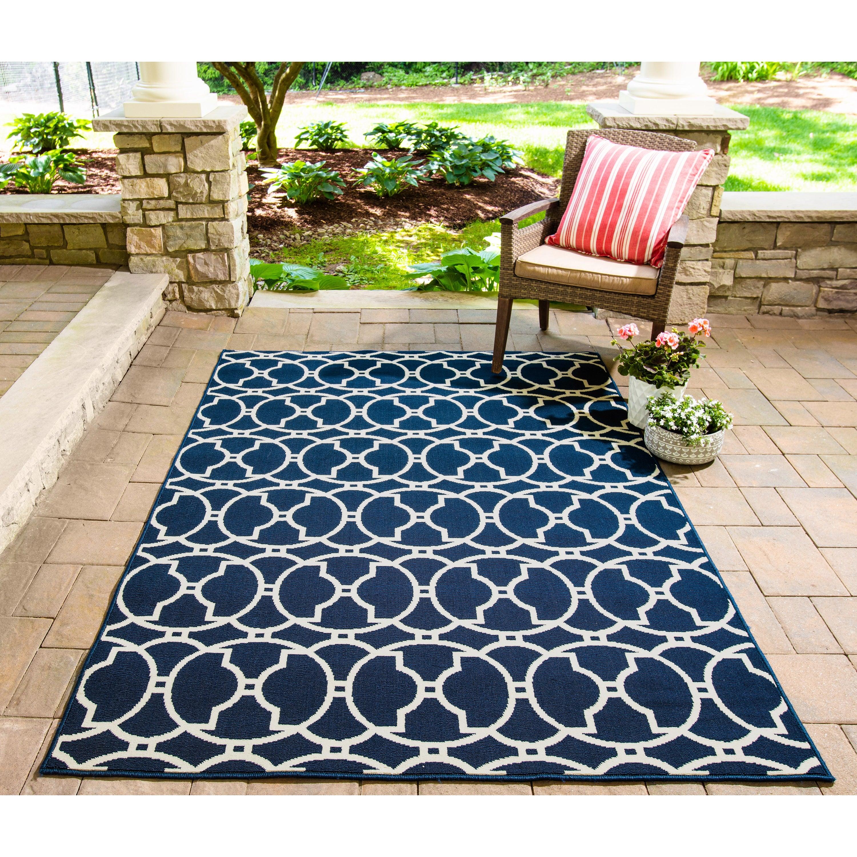 Momeni Baja Moroccan Tile Indoor Outdoor Rug On Sale Overstock 8104254