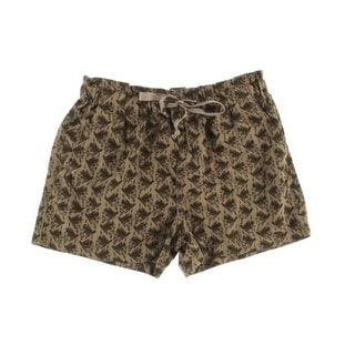 Calvin Klein Jeans Womens Knit Printed Casual Shorts - 12