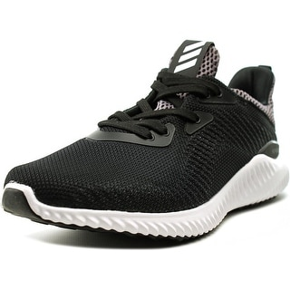 Adidas Alphabounce Round Toe Synthetic Running Shoe