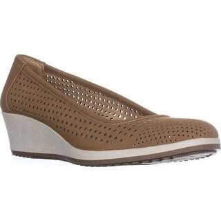 naturalizer Becky Comfort Wedge Heels, Mocha