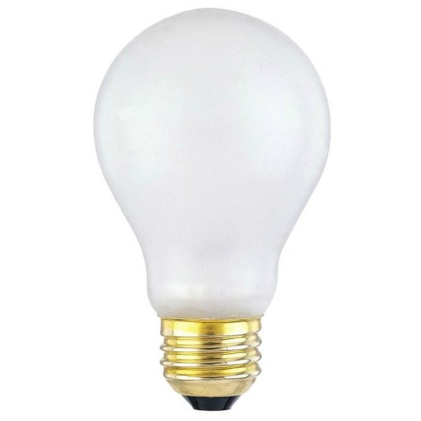 A19 E26 BASE Frosted Shatter Proof Appliance Bulb 60W 130V