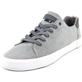 Tommy Hilfiger Pawleys Men Round Toe Canvas Gray Sneakers