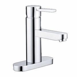 """Bathroom Faucet Chrome 1 Handle Centerset 6 3/8"""" H"""