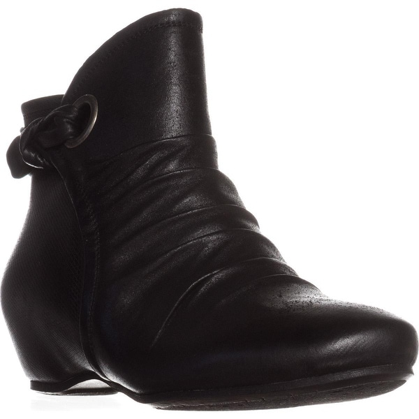 BareTraps Salie Hidden Wedge Ankle Boots, Black