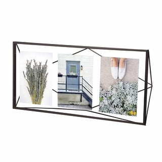 """Umbra 313019  Prisma 19"""" x 9"""" Steel Free Standing Picture Frame"""