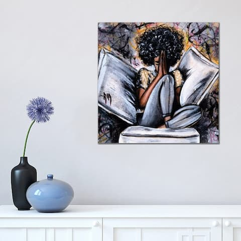 "iCanvas ""All I Have..."" by Artist Ria Canvas Print"