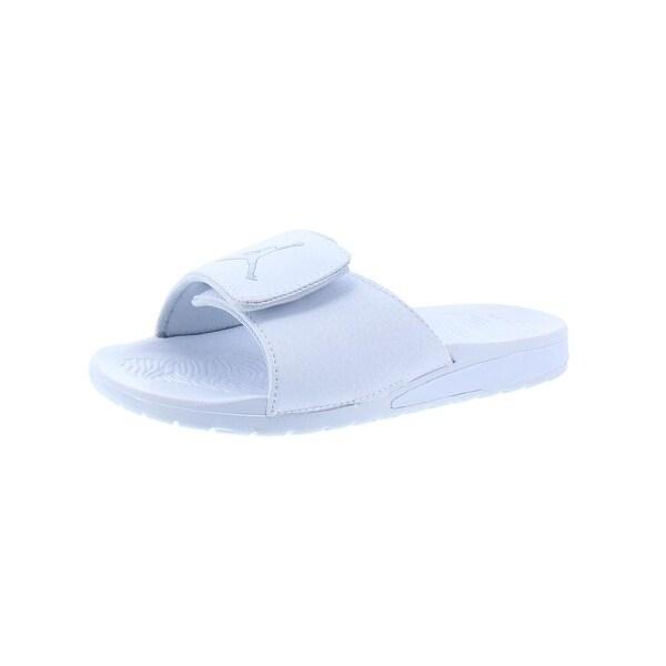 online store 7f8db 97ecf Shop Jordan Boys Hydro 6 Slide Sandals Little Kid Casual - 3 ...