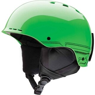 Smith Optics Holt Jr Ski/Snow Helmet (Reactor Tracking/Youth Small) - Green