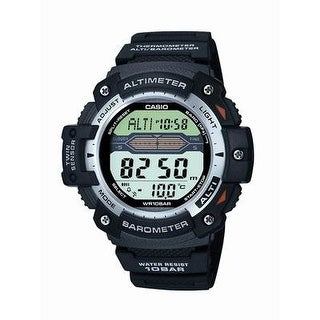 Casio Sgw300h-1Av Men's Digital Twin Sensor Sport Chronograph Wrist Watch, Black