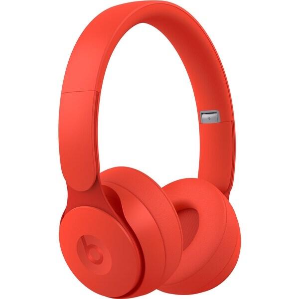Beats Solo Pro Wireless Noise Cancelling On-Ear Headphones - Red. Opens flyout.