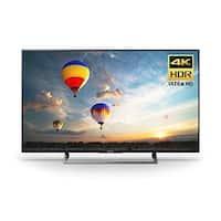Sony XBR49X800E BRAVIA XBR Series LED TV - Smart TV - 4K UHD (2160p) - Edge-lit, Frame Dimming - Black
