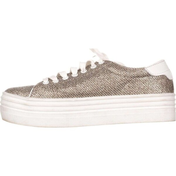 GUESS Womens Alexea Fabric Low Top Lace Up Fashion Sneakers