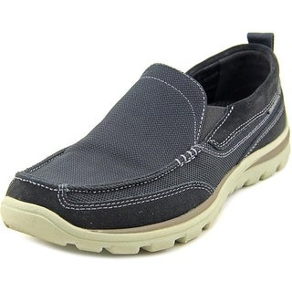 Skechers Superior Milford Women Moc Toe Canvas Loafer