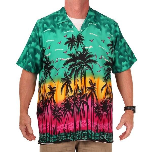 cf8480e9 Shop Island Shirtworks Men's Hawaiian Print Shirt - Free Shipping On ...
